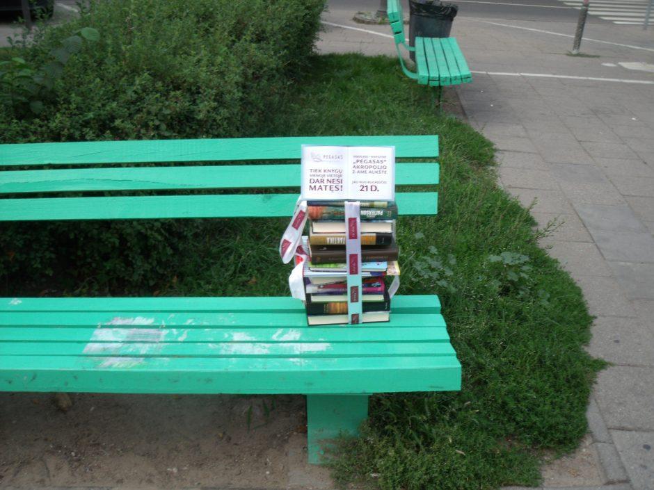 Vilniuje nemokamai dalijamos knygos