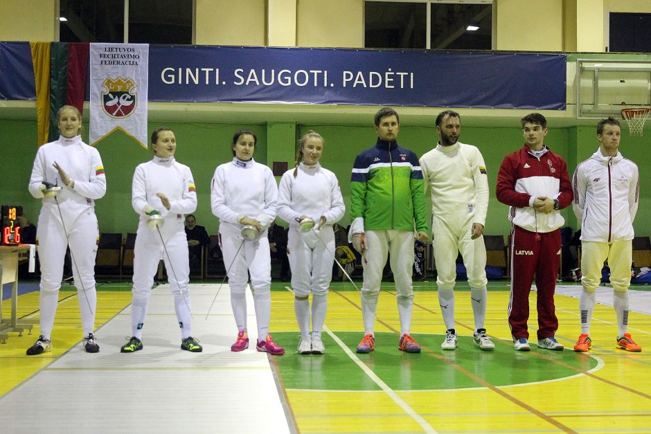 Lietuvos fechtavimo taurės varžybos