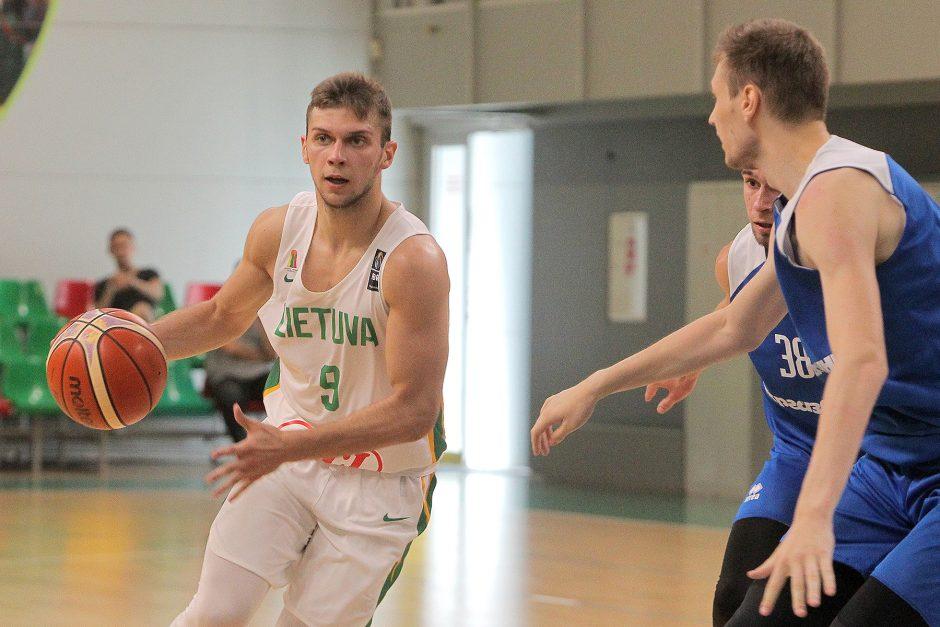 Krepšinio kontrolinės Lietuva U20 – Ukraina U20 82:76