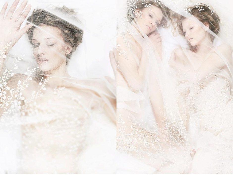 C. Middleton vestuvinės suknelės nėriniai – lietuvės dizainerės suknelių kolekcijoje