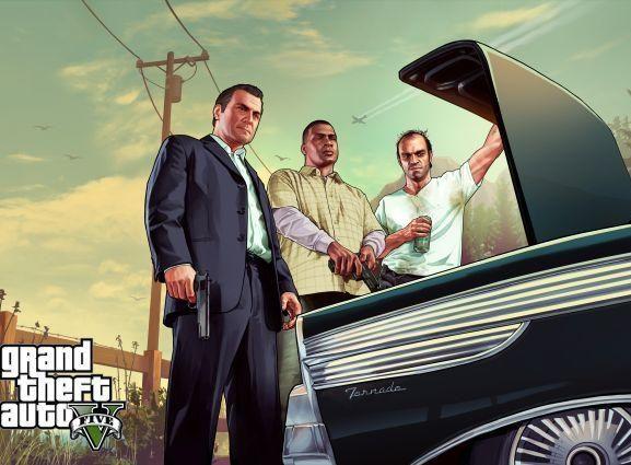 """""""Rockstar"""" pristatė """"Grand Theft Auto V"""" - filmuką, kuriame rodomas tikras žaidimas"""