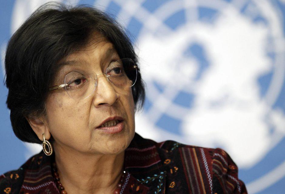 JT žmogaus teisių komisarė reikalauja ištirti policijos veiksmus Egipte