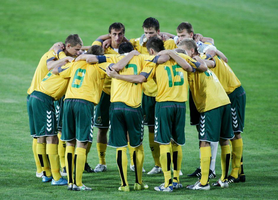 Lietuvos jaunimo futbolo rinktinė – 2015 metų Europos futbolo čempionato atrankos turnyro lyderė