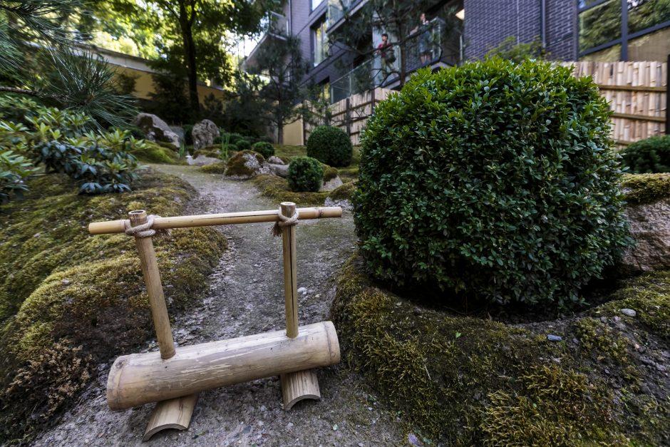 Vilniuje pristatytas naujasis Japoniškas sodas