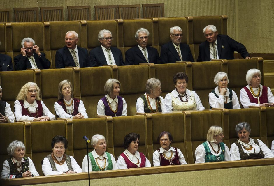 Gedulo ir vilties dienos minėjimas Seime