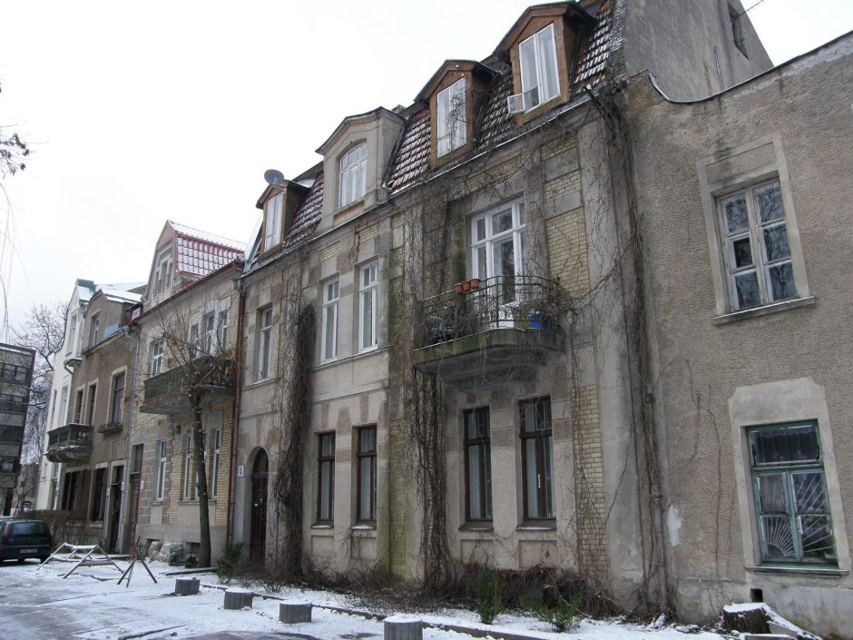 Montvilos kolonija – pati seniausia sostinėje namų bendrija