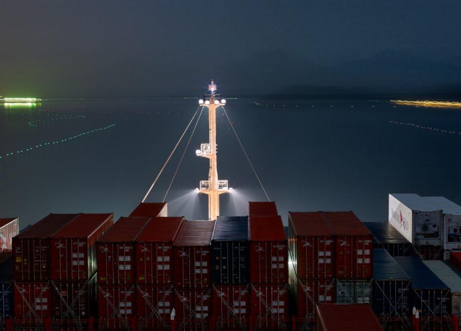 Meninės fotografijos objektas – laivai