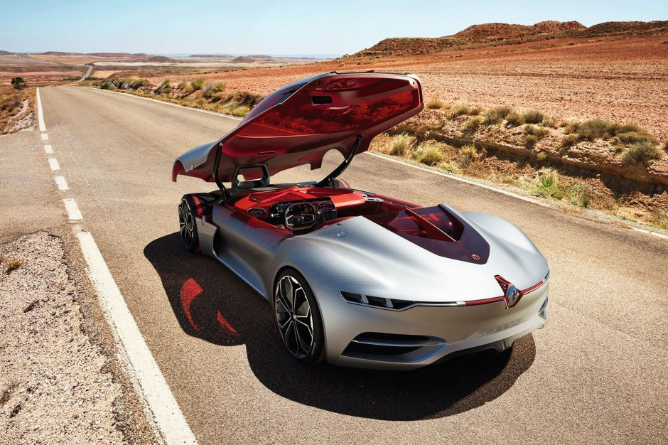 """""""Renault TREZOR"""" paskelbtas """"Metų koncepciniu automobiliu"""""""