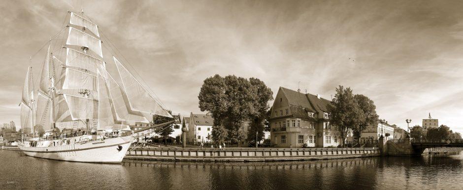 Uostamiesčio Fotografijos galerijoje – fotomenininko R. Gabrio Klaipėda