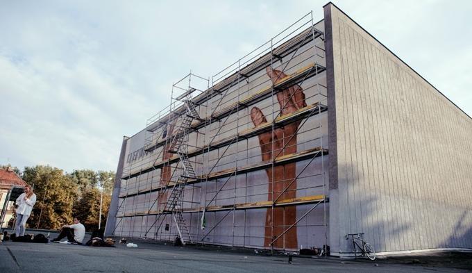 Menininkai papuoš Vilniaus gatves ir pastatus