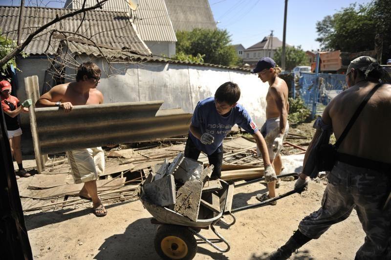Rusijoje po žmonių aukų pareikalavusių potvynių areštuoti 3 pareigūnai