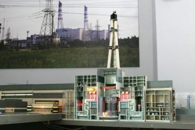 Prezidentė teigia tikinti būsimos atominės elektrinės projektu