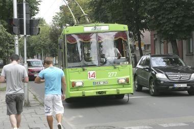 Kauno viešajame transporte – kova su kišenvagiais