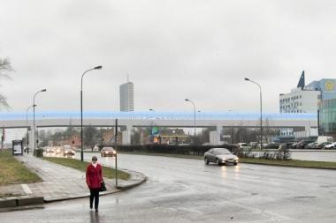 Vietoj tunelio – viadukas