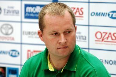 K. Maksvytis - geriausias metų vaikinų treneris