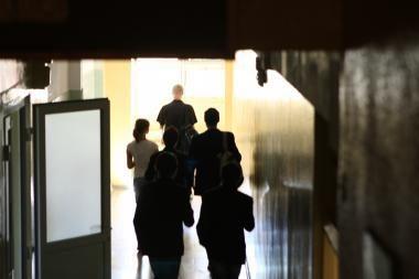 Sostinės mokykloje sužalota mergaitė paguldyta į ligoninę
