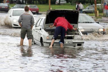 Norima sustabdyti gatvių potvynius