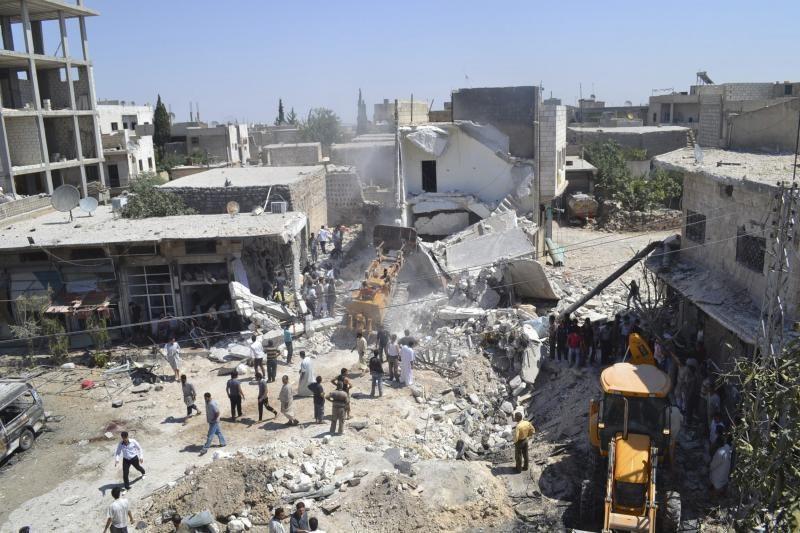 Damaske netoli armijos generalinio štabo nugriaudėjo du sprogimai