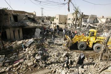 Bagdade per mirtininko išpuolį žuvo 16 žmonių