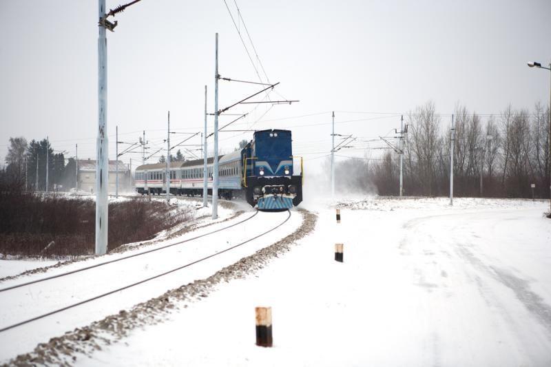 Vilniaus pakraštyje traukinys mirtinai sužalojo vyrą