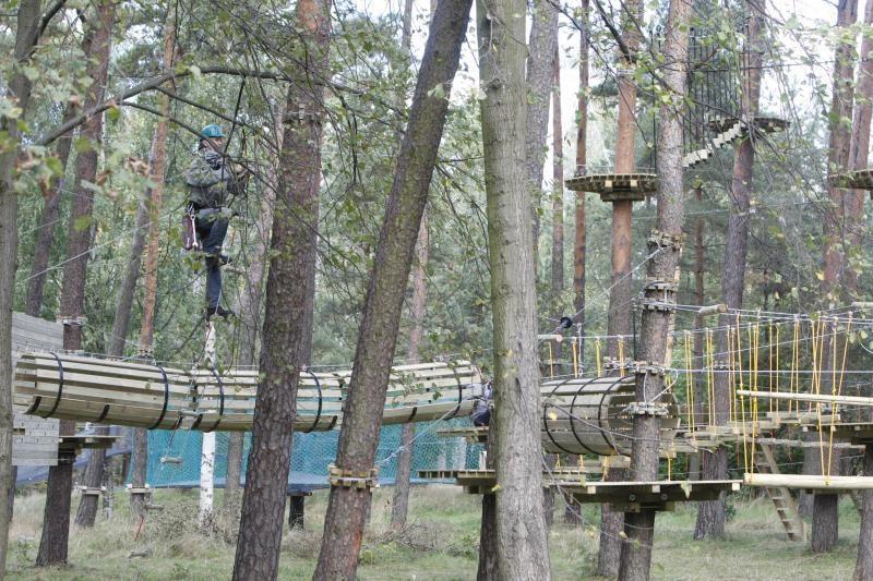 Klaipėdos savivaldybė džiaugiasi skandalais apipintu laipynių parku