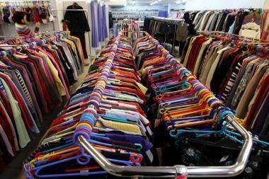 Dėvėtų drabužių renesansas atidedamas