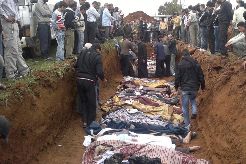Sirijos kariai savo šalyje nukovė mažiausiai 80 žmonių (papildytas)