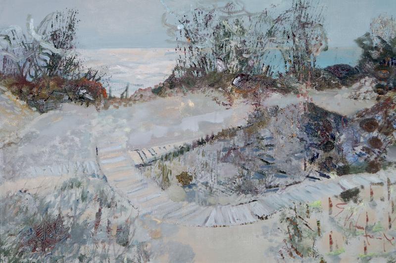 Gražinos Vitartaitės tapyba – uostamiesčio Rūtų galerijoje