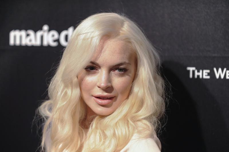 Niujorke sulaikyta praeivį sužalojusi aktorė L. Lohan