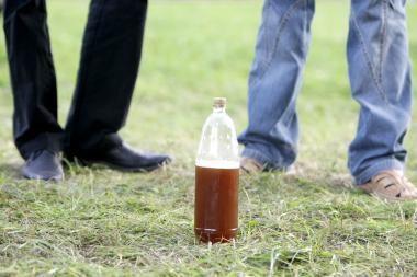 Jaunimas vietoj margučių rinkosi alkoholį