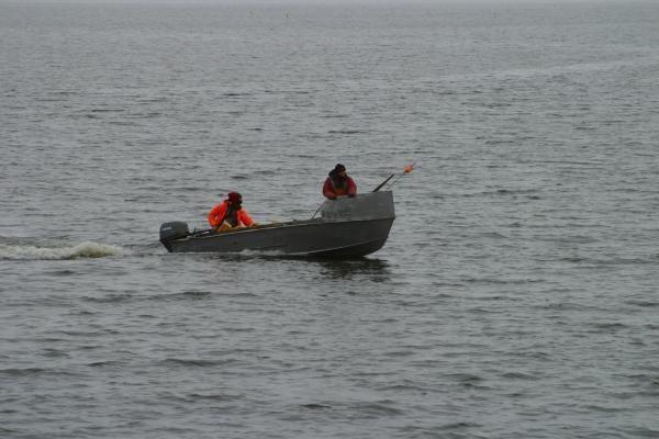 Lietuvos karinės jūrų pajėgos gelbėjo žvejus