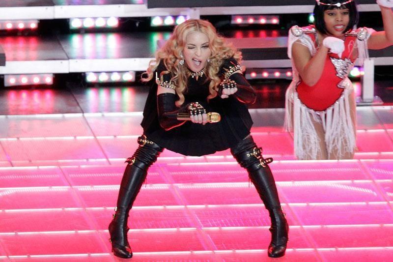 Madonnos šortai privertė aplinkinius gręžiotis