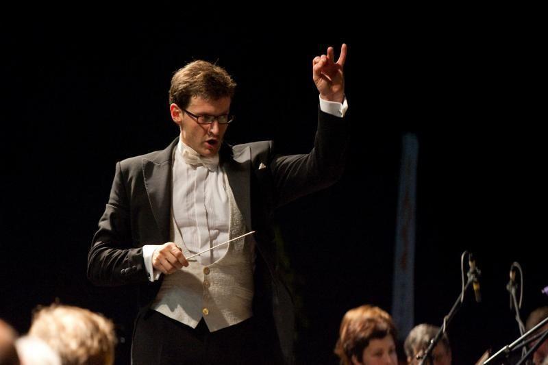 Kauno simfoninis orkestras – be dirigento M.Pitrėno