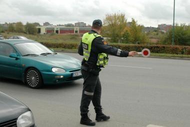Policininkai budės prie pėsčiųjų perėjų