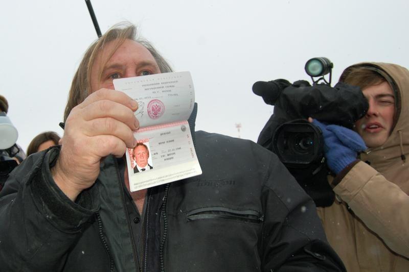G. Depardieu pakviestas stoti į Rusijos komunistų partiją
