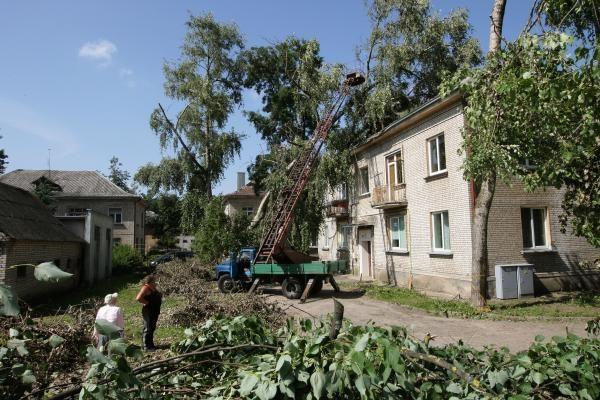 Nors būta perspėjimų, naujos gamtos stichijos Lietuva išvengė