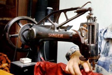 Senieji amatai: vilniečiai bus supažindinami su siuvėjų amatu (programa)