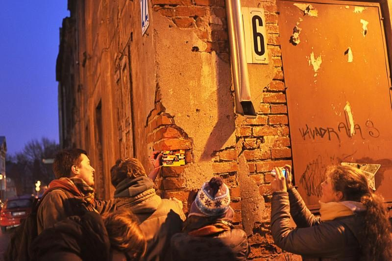 Studentai miesto bėdas sprendžia linksmai
