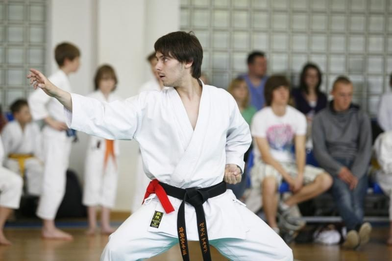 Karatė sportininkai kovos dėl Kauno rajono mero taurės