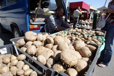 Kaip bulvių pardavėjai naudojasi pirkėjų neišmanymu