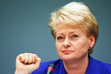 Prezidentė Seimui siūlo demonopolizuoti šilumos ūkį