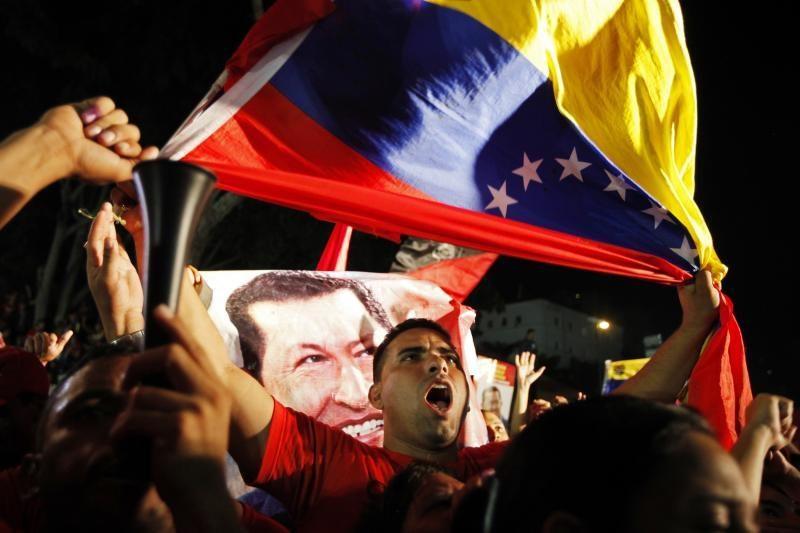 """Baltieji rūmai pasveikino venesueliečius """"taikių"""" rinkimų proga"""
