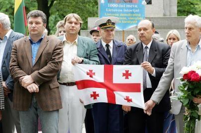 Kaune – akcija paremti Gruziją