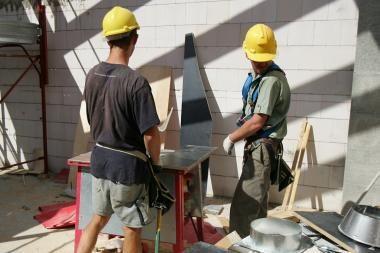Pradedama statyti Balsių mokykla