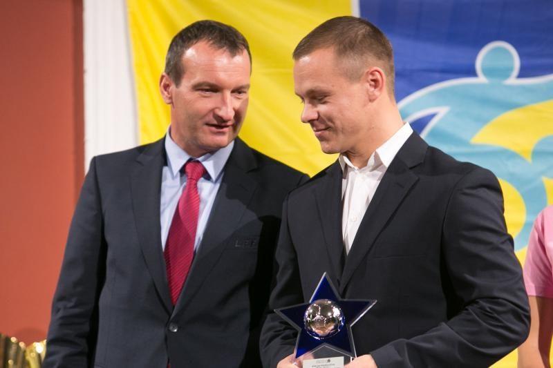 Geriausio Lietuvos futbolininko laurai - Ž. Karčemarskui