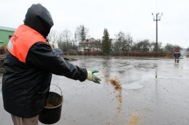 Orai Kaune: bus ir saulės, ir sniego, ir nauja šalčio dozė