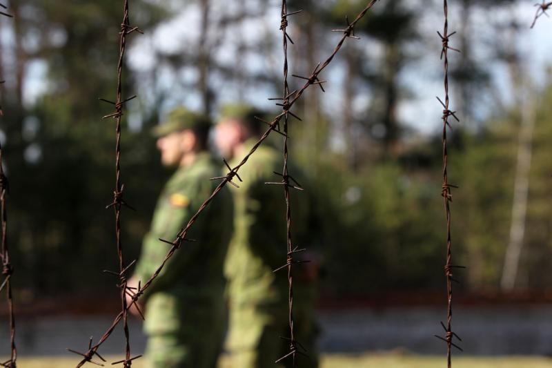 Pasieniečiai sulaikė disponavimu kontrabanda įtariamą karį