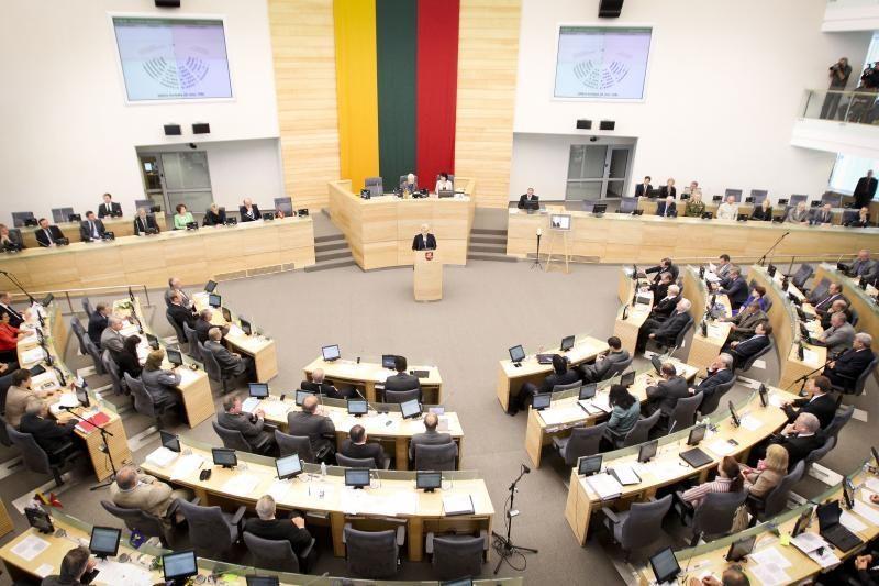 Seimas laukia vardinio balsavimo dėl VAE