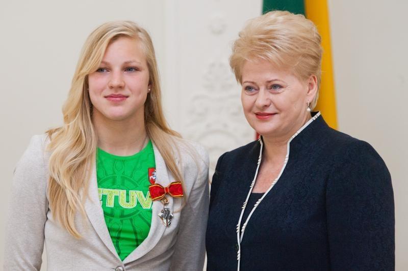R. Meilutytės treneris: ji nėra patenkinta tik vienu olimpiniu medaliu