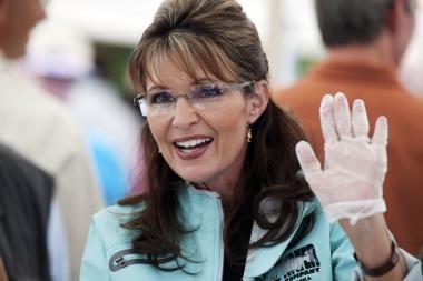 S.Palin apstulbino radijo klausytojus kalbos riktu apie paramą